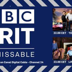 BBC BRIT Canal Digital poster