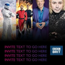 BBC BRIT Invite template Email Design