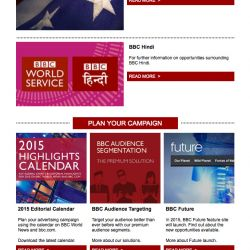 BBC Internal Email Template Design