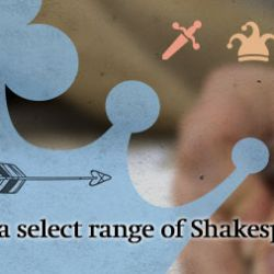 Shakespeare Email Banner