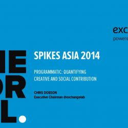 The Exchange Lab Spikes Asia Keynote